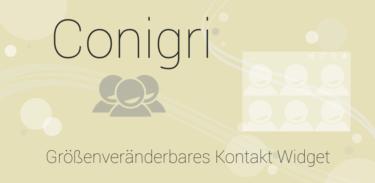 Conigri – Kontakte Widget