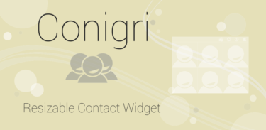 Conigri – Contact Widget